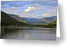 Quake Lake Greeting Card