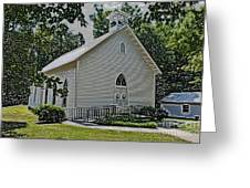 Quaker Church Pencil Greeting Card
