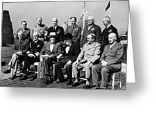 Quebec Conference, 1944 Greeting Card