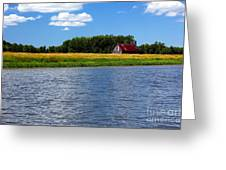 Quebec Countryside Greeting Card