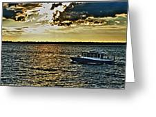 Queen City Ferry Greeting Card