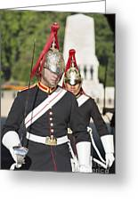 Queen Lifeguards London Greeting Card