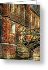 Queens' College And Mathematical Bridge Greeting Card