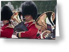 Queens Guards Band Greeting Card