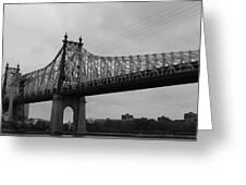 Queensboro Bridge  Greeting Card