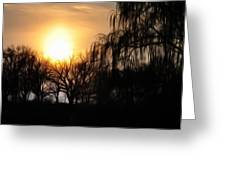 Quiet Country Sunrise Greeting Card