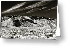 Quiet In The Valley Greeting Card by John Rizzuto