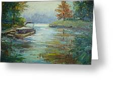 Quiet Place Greeting Card by Holly LaDue Ulrich