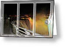 Quiet Thunder Triptych Series Greeting Card
