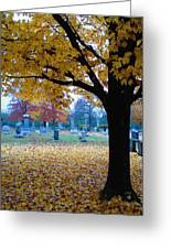 Quiet Time Greeting Card by Gordon Beck