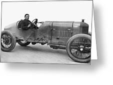 Race Car, 1914 Greeting Card