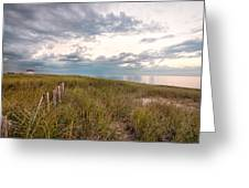 Race Point At Sunset Greeting Card by Linda Pulvermacher