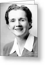 Rachel Carson (1907-1964) Greeting Card by Granger