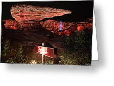 Radiator Racers - Cars Land - Disneyland Greeting Card