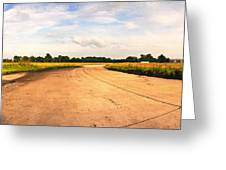 Raf Eye Taxiway Greeting Card