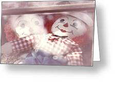 Raggedy Ann And Andy Greeting Card