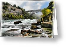 Raging Niagara          Greeting Card