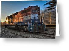 Rail America's 3869 Greeting Card