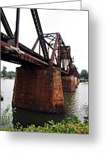 Railroad Bridge 1 Greeting Card