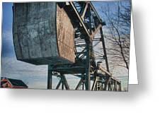Railroad Bridge 10615c Greeting Card