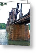 Railroad Bridge 2 Greeting Card
