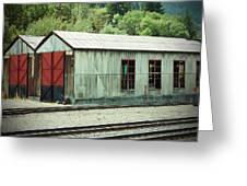 Railroad Woodshed 2 Greeting Card
