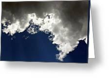 Rain Cloud Greeting Card