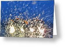 Rain On My Windshield Greeting Card