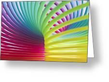 Rainbow 7 Greeting Card