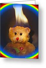 Rainbow Bear Greeting Card