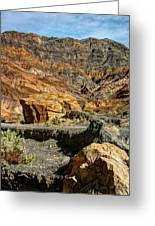 Rainbow Canyon Death Valley Greeting Card