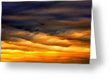 Rainbow Clouds Greeting Card