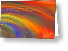 Rainbow Haiku Greeting Card
