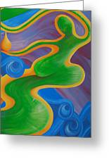 Rainbow Healing For Family Greeting Card
