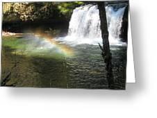 Rainbow Mist 2 Greeting Card