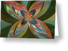 Rainbow Of Colors Greeting Card