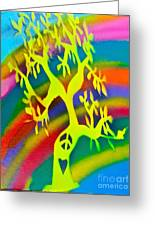 Rainbow Roots Greeting Card