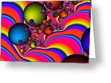 Rainbow Universe Greeting Card