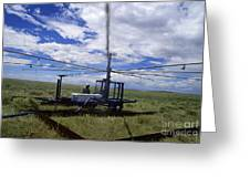 Rainfall Simulator Greeting Card