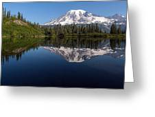 Rainier Clarity Greeting Card