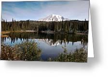 Rainier Serenity Greeting Card