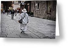 Rainwear In Salzburg Greeting Card