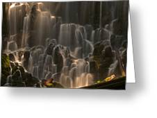 Ramona Falls  Greeting Card by Ulrich Burkhalter