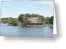 Ramsey Lake Sudbury Greeting Card
