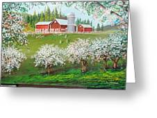 Ranch Home Greeting Card
