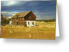 Ranch House Greeting Card