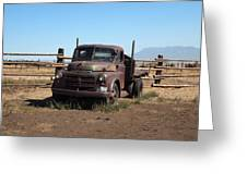Ranch Truck Greeting Card