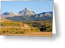Ranching The Sneffels Greeting Card