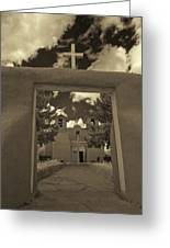 Rancho De Taos Greeting Card