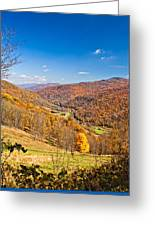 Randolph County West Virginia Greeting Card